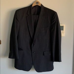 JoS A. Bank men's navy suit coat, size 44R